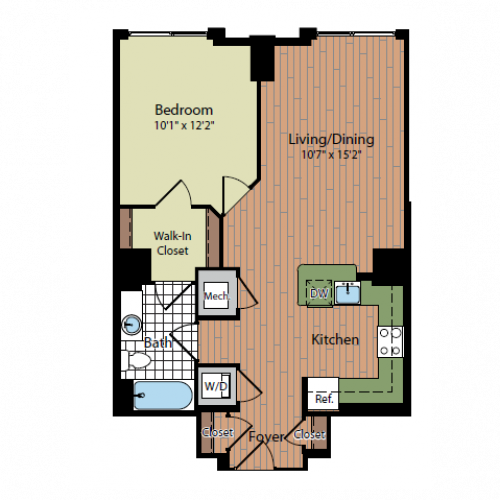 Floor Plan 6 | Parc Meridian at Eisenhower Station 3