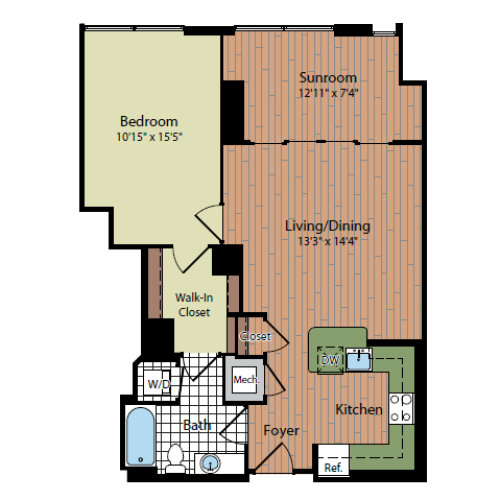 Floor Plan | Parc Meridian at Eisenhower Station 4