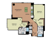 Floor Plan 4 | Parc Meridian at Eisenhower Station 4