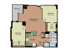 Floor Plan 3 | Parc Meridian at Eisenhower Station 8