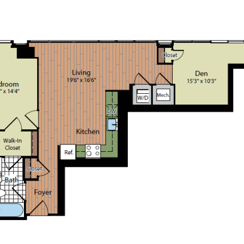 Floor Plan 4 | Parc Meridian at Eisenhower Station 8