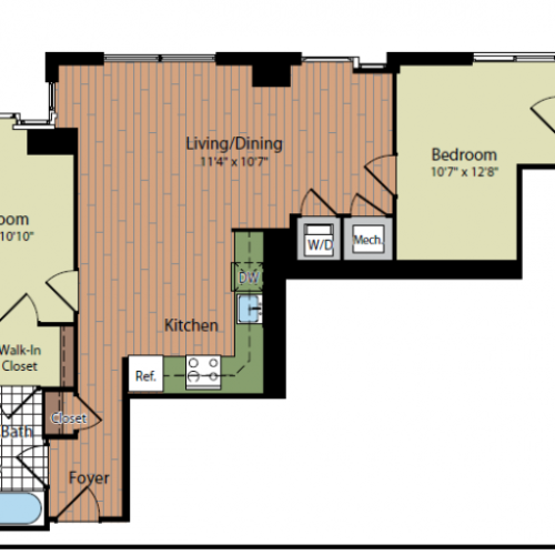 Floor Plan 5 | Parc Meridian at Eisenhower Station 8