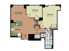 Floor Plan 6 | Parc Meridian at Eisenhower Station 8