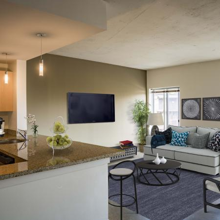 Elegant Living Room | Studio Apartments In Washington DC | Park Triangle Apartments Lofts and Flats