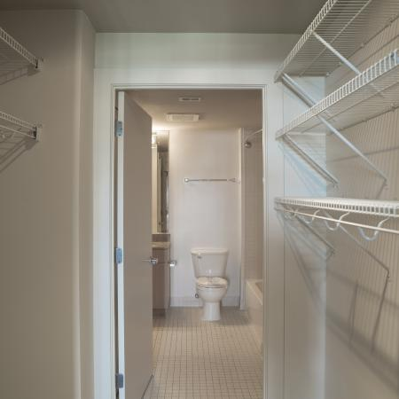 Spacious Closet | Washington DC Apartments | Park Triangle Apartments Lofts and Flats