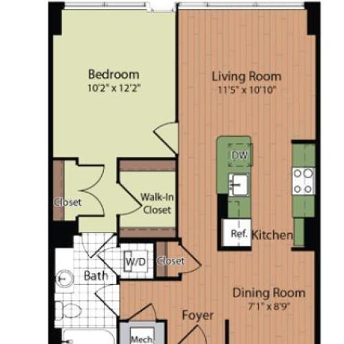 Floor Plan 5 | Parc Meridian at Eisenhower Station