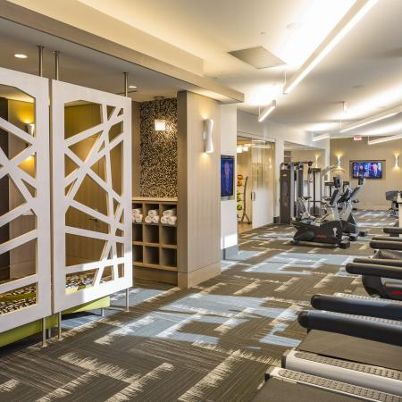State-of-the-Art Fitness Center | Apartment Homes in Arlington, VA | Parc Meridian at Eisenhower Station