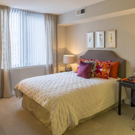 Elegant Master Bedroom | Apartments Arlington, VA | Parc Meridian at Eisenhower Station