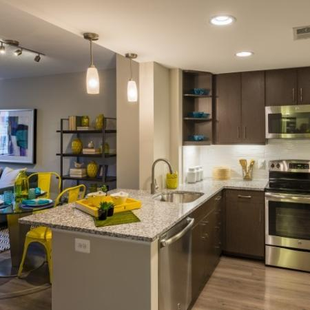 Luxurious Kitchen | Apartment Homes in Arlington, VA | Parc Meridian at Eisenhower Station