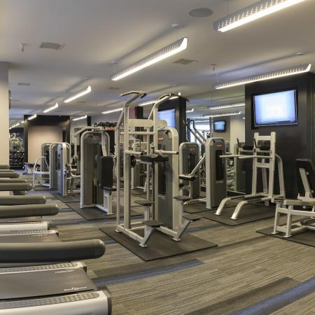 State-of-the-Art Fitness Center | Apartment Homes in Washington, DC | Meridian at Gallery Place