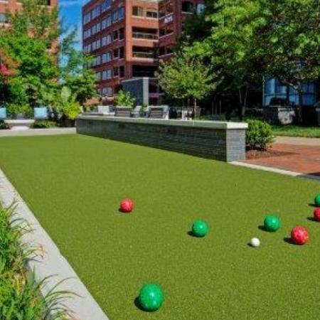 Bocce Ball Court | One Bedroom Apartments In Alexandria VA | Meridian at Braddock Station