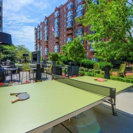 Resident Ping Pong Table | Apartments For Rent Alexandria VA | Meridian at Braddock Station