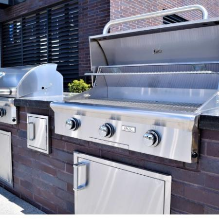 Rooftop Lounge With Three Grilling Stations