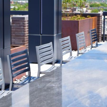 Dine Al Fresco With Friends at the Rooftop Lounge
