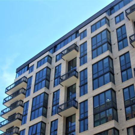 Meridian on First| Building Exterior| Navy Yard Apartments| Washington, DC Apartments