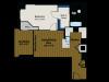 Floor Plan 2 | Meridian at Gallery Place 2