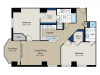 Floor Plan 2 | Meridian at Gallery Place 5