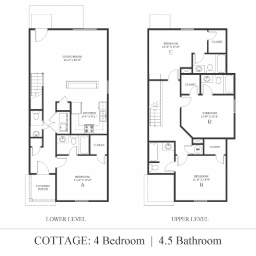 4 bedroom Cottage