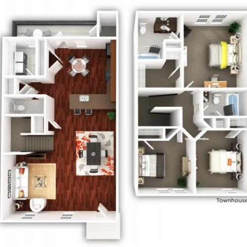 3 Bedroom_Townhome