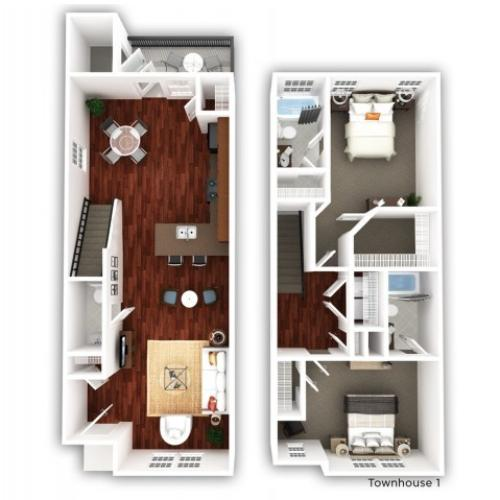2 Bedroom_Townhome