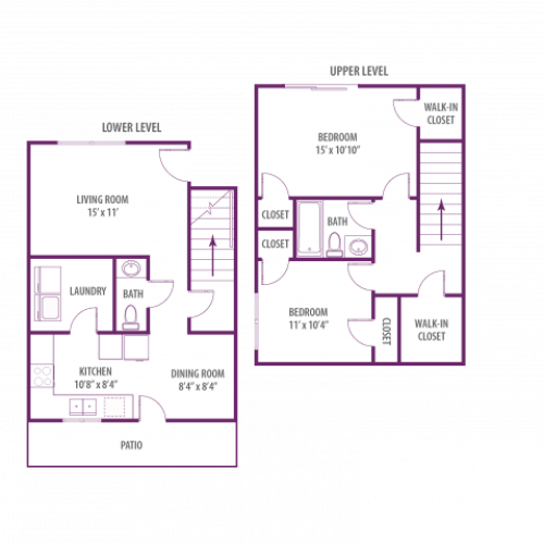 Campus Side 2 bedroom townhome