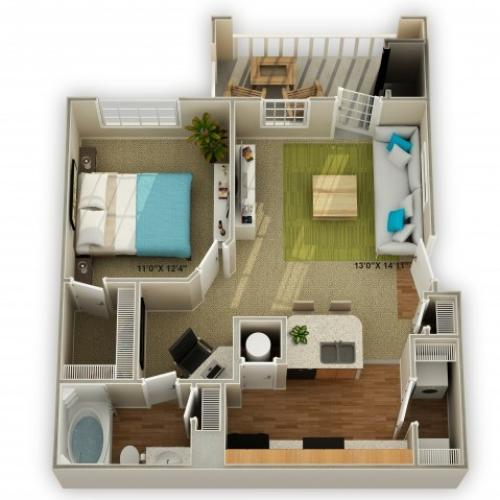 Image of The Ridgecrest Floor Plan