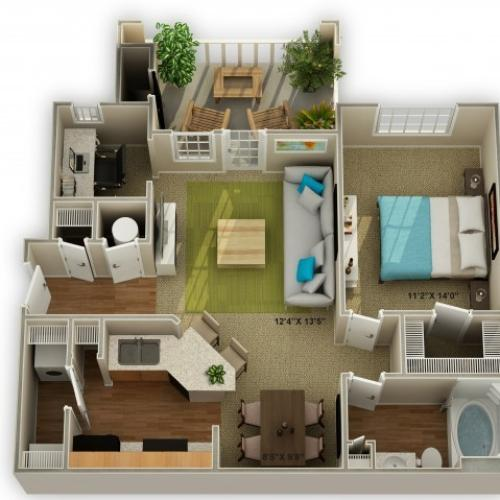 Image of The Oakwood Floor Plan
