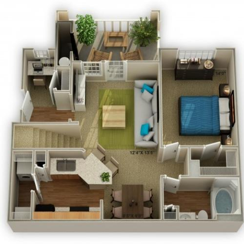 Image of The Timberlake Floor Plan