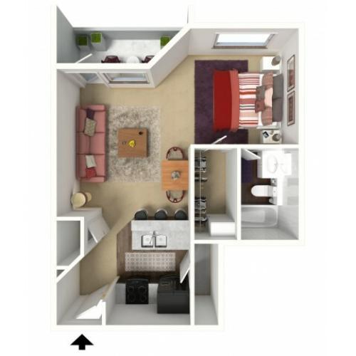 Tuscany Pointe Apartments: 2 Bed / 1 Bath Apartment In Boca Raton FL