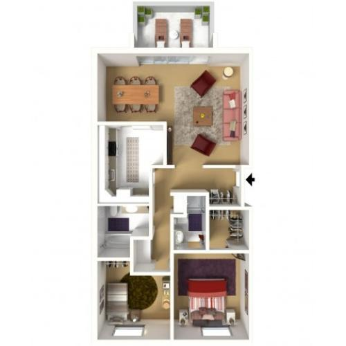 Hiddentree Apartments and Townhomes
