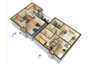 Two Bedroom / Two Bathroom Townhome 930sqft