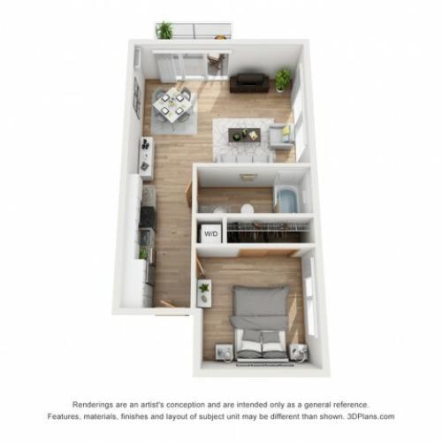 Rhythm Horizon floor plan | Rhythm | Milwaukee Apartments
