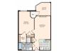 Floor Plan 13 | Meridian at Braddock Station