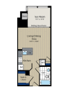 Floor Plan 6 | Meridian at Courthouse Commons