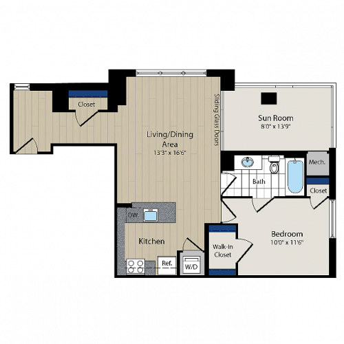 Floor Plan | Meridian at Courthouse Commons