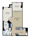 Floor Plan 2 | Meridian at Courthouse Commons 3