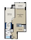 Floor Plan 6 | Meridian at Courthouse Commons 4