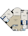 Floor Plan 6 | Meridian at Courthouse Commons 2