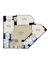 Floor Plan 3 | Meridian at Courthouse Commons 3