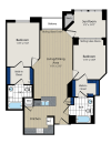 Floor Plan 4 | Meridian at Courthouse Commons 4