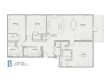 Floor Plan 8 | Apartments Baton Rouge | Bayonne at Southshore