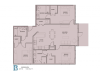 Floor Plan 9 | Baton Rouge Luxury Apartments | Bayonne at Southshore