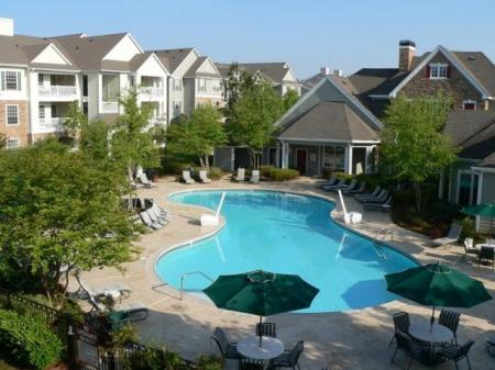 Year Round Swimming Pool | Apartment in Durham, NC | Lodge at Southpoint Apartments