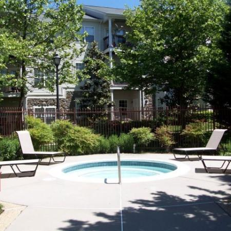 Resident Hot Tub | Apartments in Fairfax, VA | Lincoln at Fair Oaks Apartments