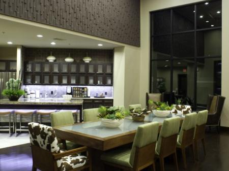 Luxury Clubhouse at Apartments in Fort Worth Texas
