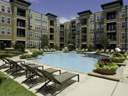 Resort-style Pool at White Settlement Apartments