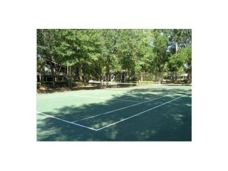 Tennis Court at our Northlake Apartments in Jacksonville FL