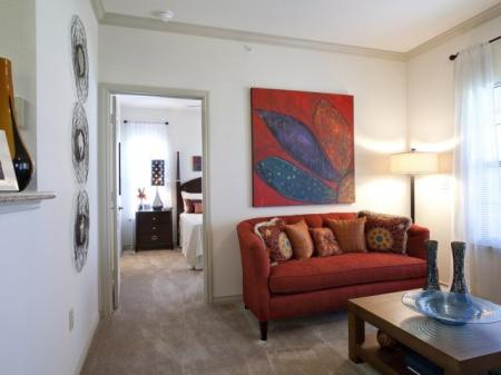 Spacious Living Room | Apartments in San Antonio , TX | Carmel Canyon at Alamo Ranch