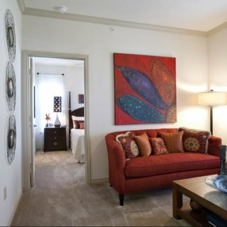 Spacious Living Room | Apartments in San Antonio , TX | Carmel Canyon at Alamo Ranch