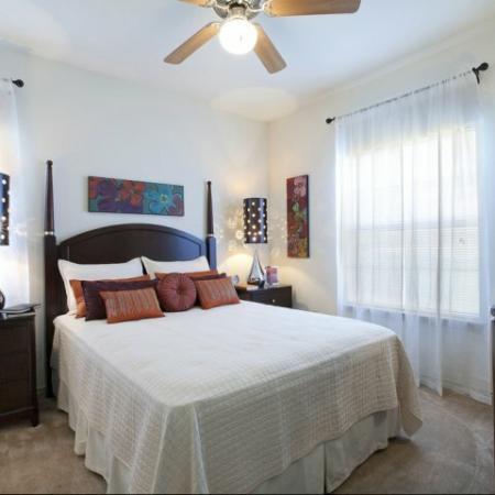 Spacious Master Bedroom | Apartments Homes for rent in San Antonio , TX | Carmel Canyon at Alamo Ranch
